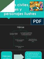 Héroes Civiles, Militares y Personajes Ilustres