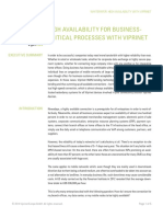 Viprinet Whitepaper High Availability En