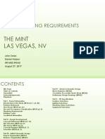 The Mint - Process Notebook