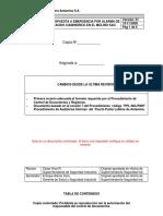 ANT304 Respuesta a Emergencia Pro Acido Cianidrico en El Molino