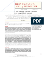 Outcomes After Induction Failure in Childhood ALL
