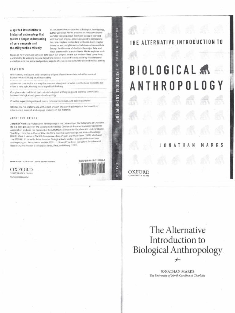 Marks | Anthropology | Human