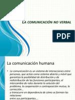 3.- Comunicación No Verbal