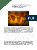Momentos Representativos Del Arte. Prehistoria, Renacimiento y Contemporaneidad
