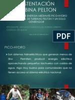 Sustentacion Turbina Pelton