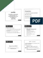 Ausaid Programme AIPRD 2015