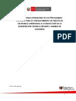 Manual Para Facilitadores - Documento de Trabajo Para Gestantes - Midis 04.05.17