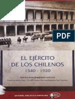 El Ejercito de Los Chilenos 1540 1920