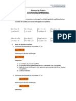 Ejercicios de Practica Economia Empresarial