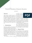 Towards the Emulation of Symmetric Encryption