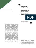 Apropicion del territorio y gestión de recursos forestales