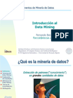 Minería Datos