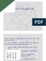 Struktur Kristal [Compatibility Mode]