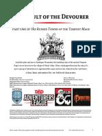 DDALCIC01 the Vault of the Devourer (1-4)djejjjsiieekjeekkekwkio