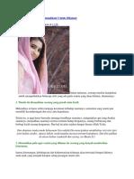 Tipe Wanita Yang Disunnahkan Untuk Dilamar.docx