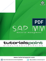 SAP MM Tutorial Document