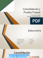 Consolidacion y Triaxial
