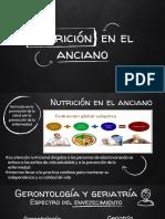 Nutrición en la vejez