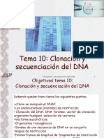 clonacion ingenieria genetica