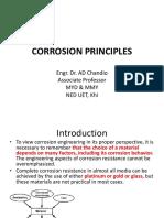 Corrosion Principles