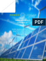 Power Ledger TGE Token Paper