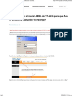 ¿Cómo Instalar El Router ADSL de TP-Link Para Que Funcione Con IPoE o IP Dinámico (Solución Trendchip)_ - TP-Link