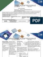 Guia de Actividades y Rúbrica de Evaluación - Fase 2. Elaborar Esquema Del Proyecto Uno
