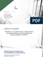Grupos en Las Organizaciones