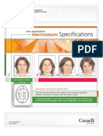 Canada Immigration Photo Specification Full