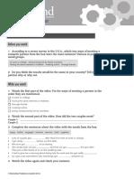 OpenMind 2 Unit 8 Class Video Worksheet - Copia