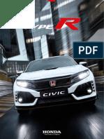 Catalogo Civic Type r 2017 17YM