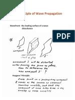 17-4-C1 Huygens Principle, Wave PropagationPRINT