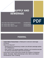 Water & Sewerage Authorities