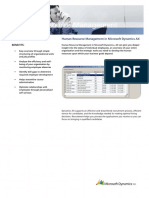 Microsoft Dynamics AX_HRM_Fact Sheet