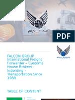 Falcon Freight LINK PVT.LTD  Custom House  Agent
