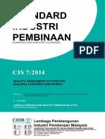 Standard CIS (CIDB)