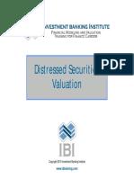 Distressed Securities