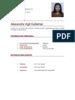Curriculum Alex