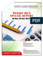 Mcx Special Report