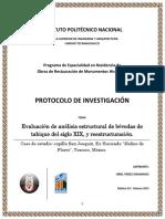 Protocolo Especialidad