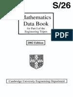 Engineering Handbook - Cambridge University