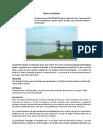 Informe Presa La Esperanza