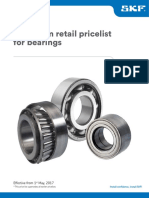 SKF Bearing Pricelist 2017