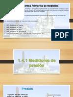 1.4.1 Medidores de Presion