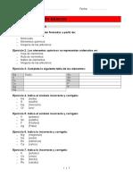 Conceptos básicos-Hidrógeno  Ejercicios 1