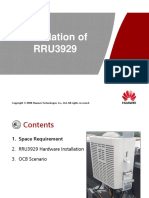 Installation Guide of RRU3929
