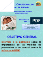 Diresa Ancash Influenza Ah1n1....2013