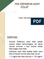 ANEMIA DEFISIENSI ASAM FOLAT.pptx