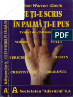 Dylan Warren - Davis - Ce Ti-e Scris in Palma Ti-e Pus - Adevarul 1998