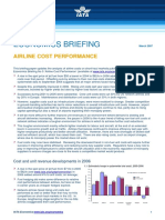IATA Economic Briefing Airline Cost Performance Update